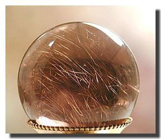 smoke quartz sphere
