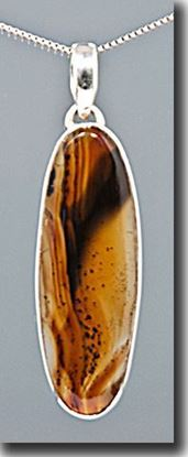 Montana Moss Agate Pendant