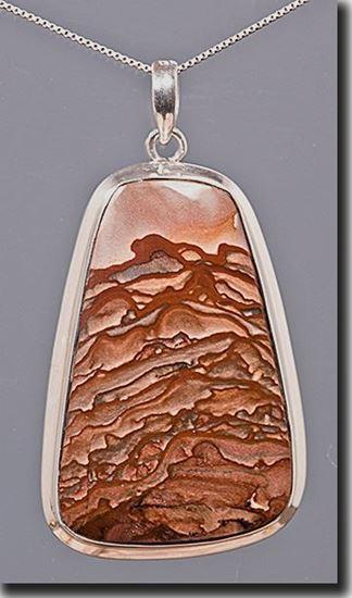 Oregon Deschutes Picture Jasper Pendant
