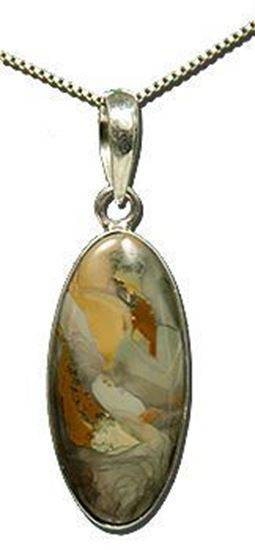 Oregon Morrisonite Jasper Silver Pendant