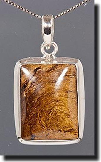Minnesota. Silkstone Silver Pendant