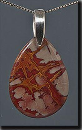 Australian Noreena Jasper Silver Pendant