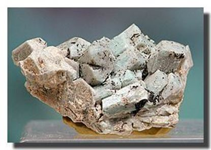 Rare Mineral Specimen Amazonite from Nevada