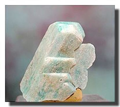 Amazonite crystal from Colorado