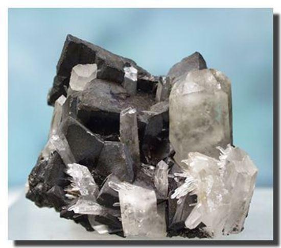 Tetrahedrite & Quartz, Montana