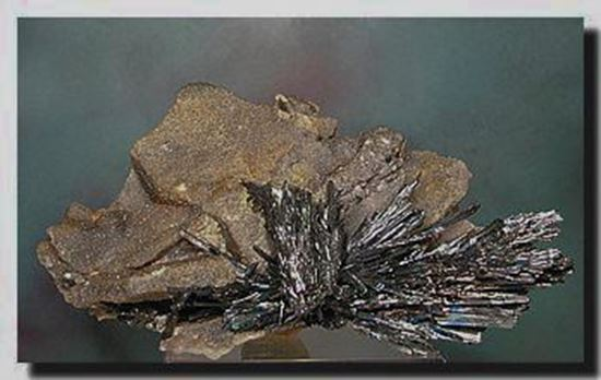 Stibnite mineral specimen from China
