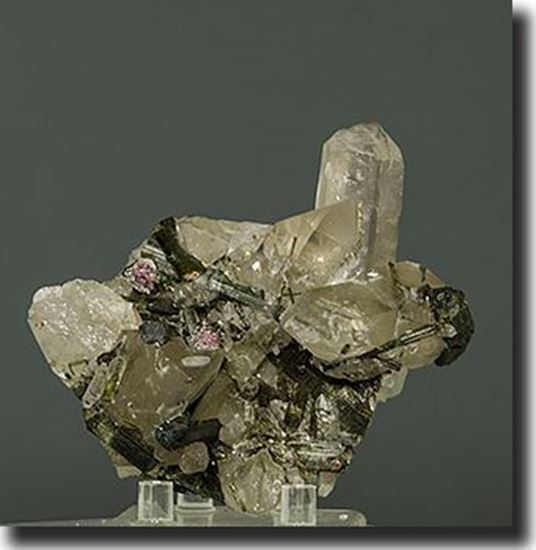 Tourmaline And Quartz Brazil