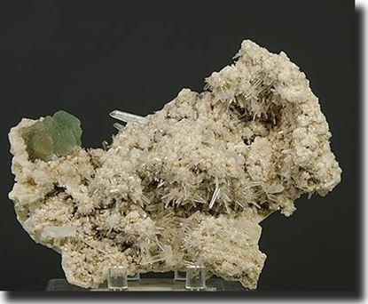 Fluorite & Quartz Peru