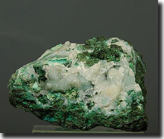 Chrysocolla, Malachite & Druzy Quartz Bisbee Arizona