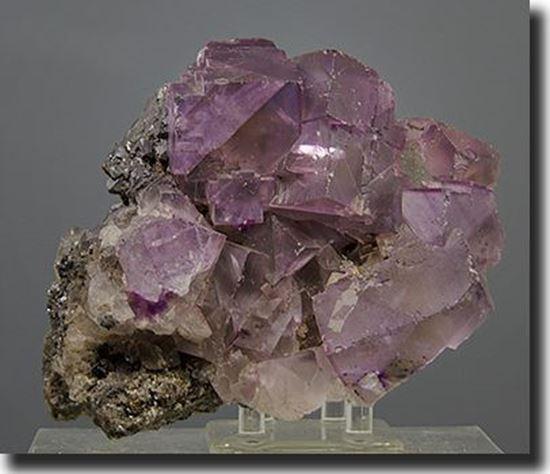 Fluorite & Sphalerite mineral specimen