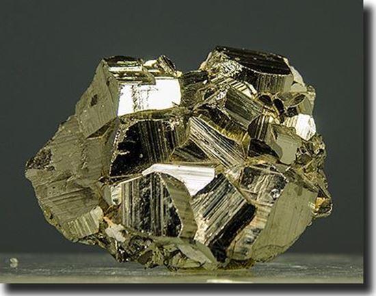 Iron Pyrite Crystals Peru