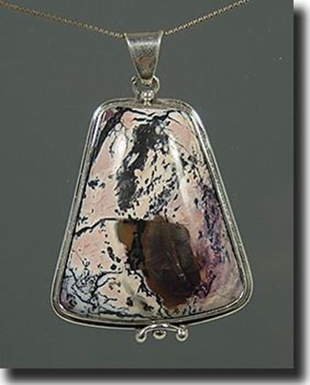 Silver Tiffany Stone Pendant