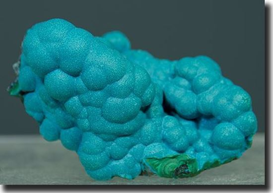 Botryoidal Chrysocolla mineral specimen