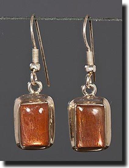 Sunstone Earrings