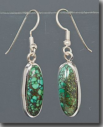 Chinese Turquoise Earrings