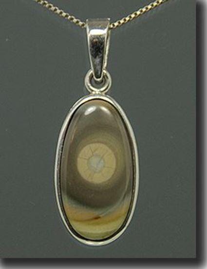 Imperial Jasper Silver Pendant
